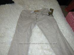 льняные фирменные брюки W30L34