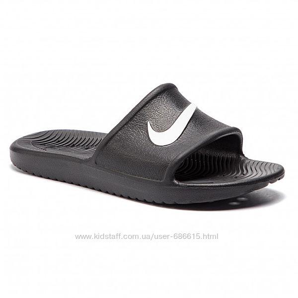 Тапки дет. Nike Kawa арт. BQ6831-001