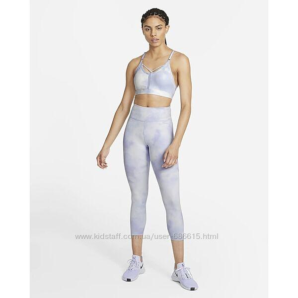 Лосины жен. Nike W One Icnclsh Crop Tgt Cr арт. DA0339-569