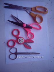 Ножницы детские, разные.