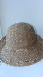 Шляпа шляпка пляжная.