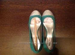 Балетки туфли бомбические Michael Antonio остались 23-23, 3 см по стелечке