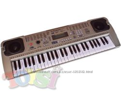 Синтезаторная клавиатура с MP3, USB и микрофоном в комплекте