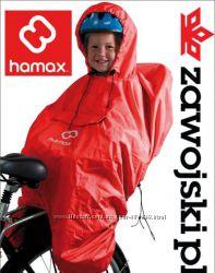 Плащ-чехол от дождя или ветра для ребенка в велосипедном кресле HAMAX