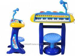 Клавишный орган с микрофоном - идеальный подарок к новогодним праздникам