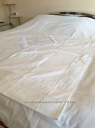 Белое постельное белье новое