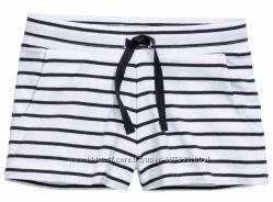 Трикотажные шорты H&M Лето 2017 Размер 152 на 11-12 лет