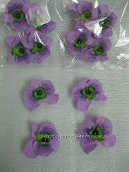 наборы цветов из фоамирана