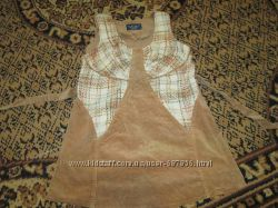 Вельветовый костюм для беременных