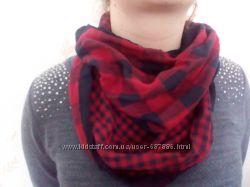 Тонкие шарфы-снуды CLOCKHOUSE часть1