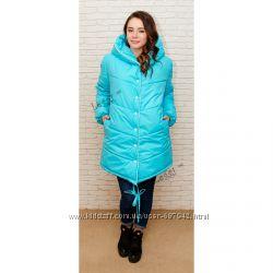 Женская куртка деми или зима oversize