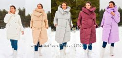 Женское зимнее пальто дутик
