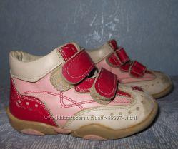 Демисезонные ботиночки для девочки BARTEK 20 размер