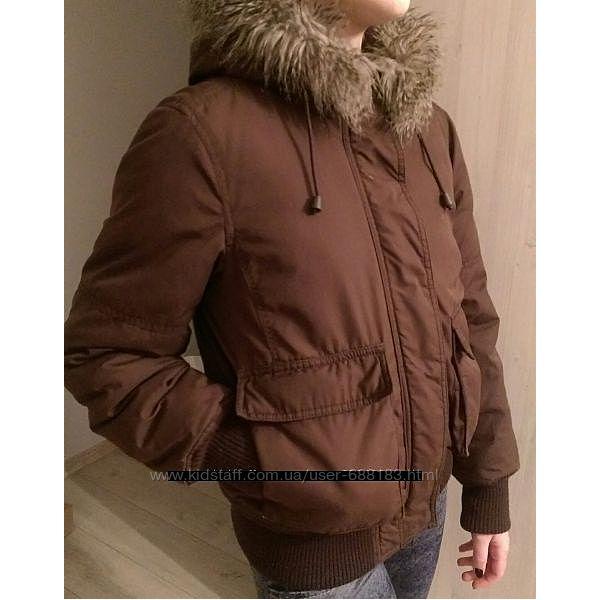 Зимняя куртка H&M, размер С подходит также на М