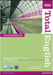 New Total English Pre-Intermediate, Students&180 BookWork Book с дисками