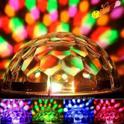 Светодиодный дискошар LED Magic Ball Light 6 MP3