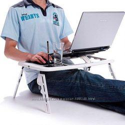 Столик Охлаждающая Подставка Под Ноутбук E-Table