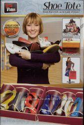 Сумка - органайзер для обуви Shoe Tote на 6 пар