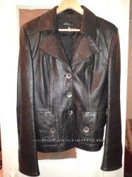 Кожаная куртка БУ