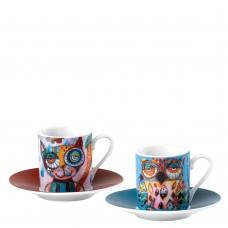 Набор Cat and Owl Espresso