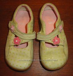 Туфли Clarks кожа стелька 14 см как новые