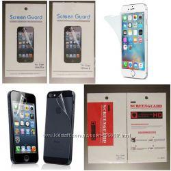 Защитная Пленка на Экран Дисплей для iPhone Айфон 5 5s SE 6 6s Plus