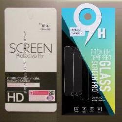 Защитное Стекло на Экран Дисплей для iPhone Айфон 4 4s 5 5s SE в упаковке