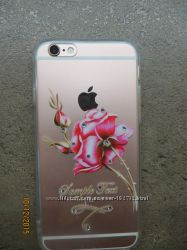 Плотный  силиконовый чехол iPhone 66s