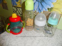 Непроливайка и антиколиковая бутылочка Avent