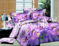 Постельный комплект 3d орхидея