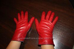 Кожанные перчатки Roeckl р-р 7, 5