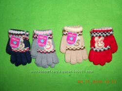 красивые перчатки на 2-5 лет польша