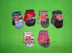 теплые рукавички на 1-4 лет польша