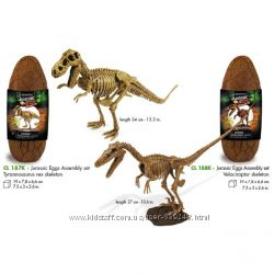 50 проц скидки GEOWORLD - фигурки, обучающие наборы, скелеты, яйца динозавр