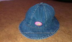 Джинсовая шляпка-панамка