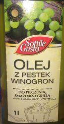 Масло из виноградных косточек Польша