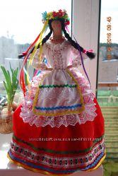 Кукла грелка на чайник Украинка