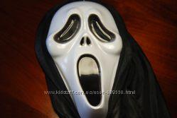 маска крик для Хеллоуина