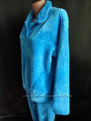 Женская теплая махровая пижама
