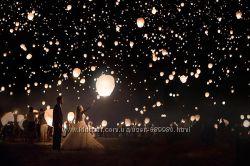 Повітряні ліхтарики, літаючі ліхтарі, китайські ліхтарі, небесные фонарики