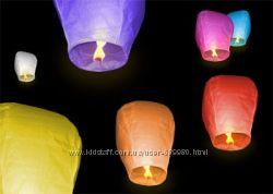 Акція Небесні ліхтарики, повітряні ліхтарики  Купол і Серце