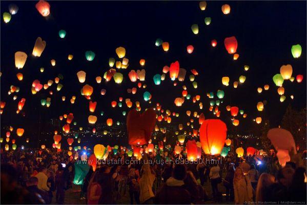 Небесні ліхтарики бажань, небесные фонарики желаний, Повітряні ліхтарики