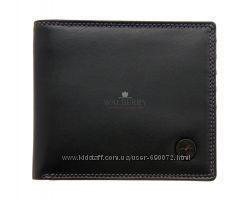 Мужской кожаный кошелек 1642 - 2039 18 - black-plum