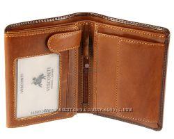 Мужской кожаный кошелек Visconti TR-34 - Waldorf - brown-tan