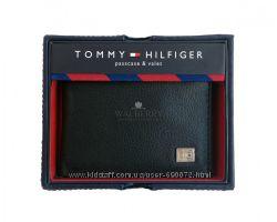 Мужской кожаный кошелек Tommy Hilfiger - 31НР22Х004 black