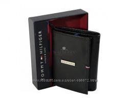 Мужской кожаный кошелек Tommy Hilfiger - 0091-3175 black