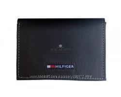 Мужской кожаный кошелек Tommy Hilfiger - 0091-3010 brown