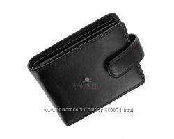 Мужское портмоне из натуральной кожи Visconti HT-13 - Strand black