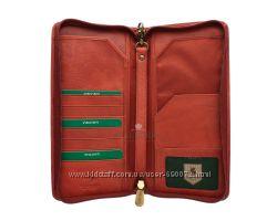 Кожаный кошелек-тревелер Visconti 1157 - brown