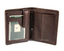 Мужской кожаный кошелек Visconti HT-11 - Brixton choc